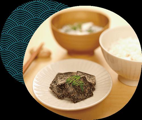 食卓を彩る栄養満点の昆布