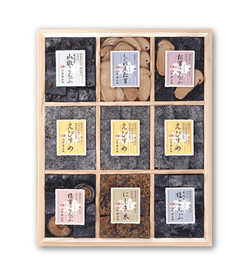 季節の挨拶やお祝いにもおすすめ、小倉屋山本伝承の味がたっぷり楽しめる詰め合わせ B-100