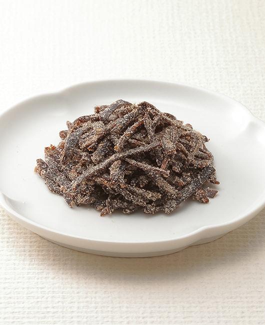 角切り昆布の厚みと細切り昆布の食べやすさ 短冊塩ふき昆布「あじろぎ」