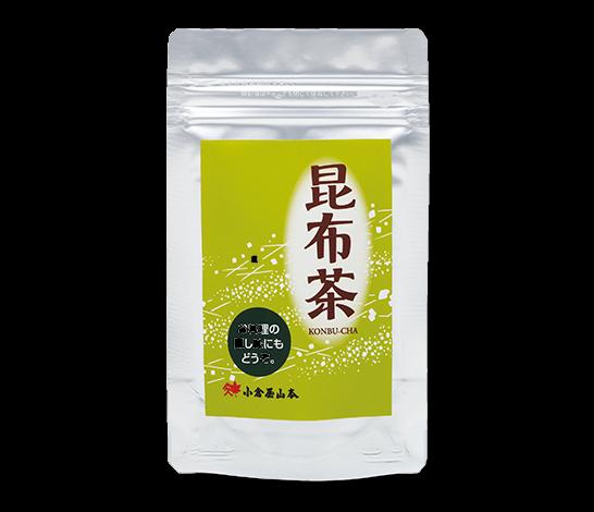 北海道産昆布を使用し粉末タイプで使いやすい「こんぶ茶」