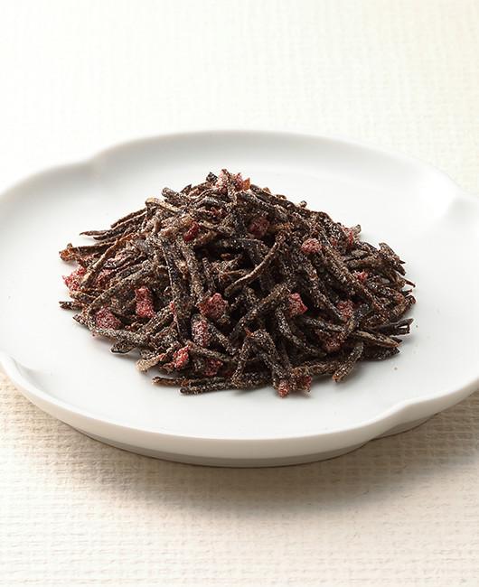 細切り昆布のうま味と梅肉の酸味「梅入り塩ふき昆布」